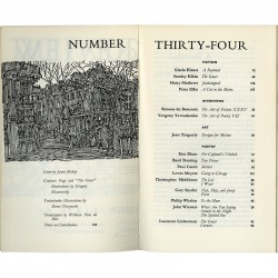 The Paris Review, frontispice de William Pène du Bois, 1965