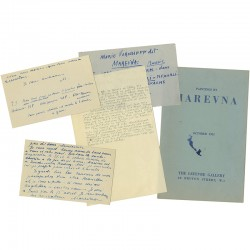 lot de divers documents sur Marevna