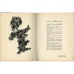 10 dessins de Pol Bury et textes de Marcel Havrenne, 1950