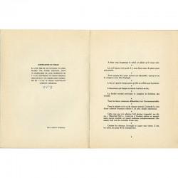 """exemplaire numéroté n°153 du livre de Pol Bury """"La Main Heureuse"""", Cobra, 1950"""