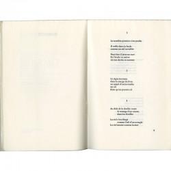"""n°574 du livre de Robert Guiette """"Ombres vives"""", éditions André De Rache, Bruxelles, 1969"""