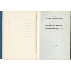 exemplaire en tirage de tête, accompagné d'une un gravure originale signée et numérotée de Silvano Scheiwiller