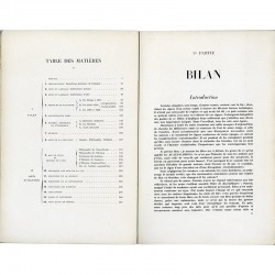Bilan des arts modernes en France, littérature, peinture, sculpture, architecture, science, religion, philosophie