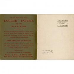 Édition originale du catalogue de la première exposition des peintres futuristes en Angleterre