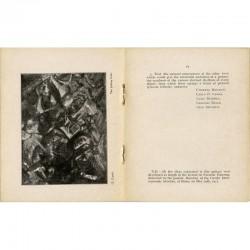 """The exhibitions to the Public"" texte co-signé par Umberto Boccioni, Carlo D. Carrà, Luigi Russolo, Giacomo Balla, Gino Severini"