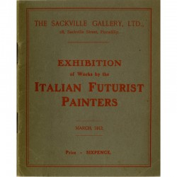 Italian Futurist Painters, The Sackville Gallery, 1912