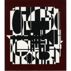 """sérigraphie de Victor Vasarely """"Anadyr-R"""" 1987"""