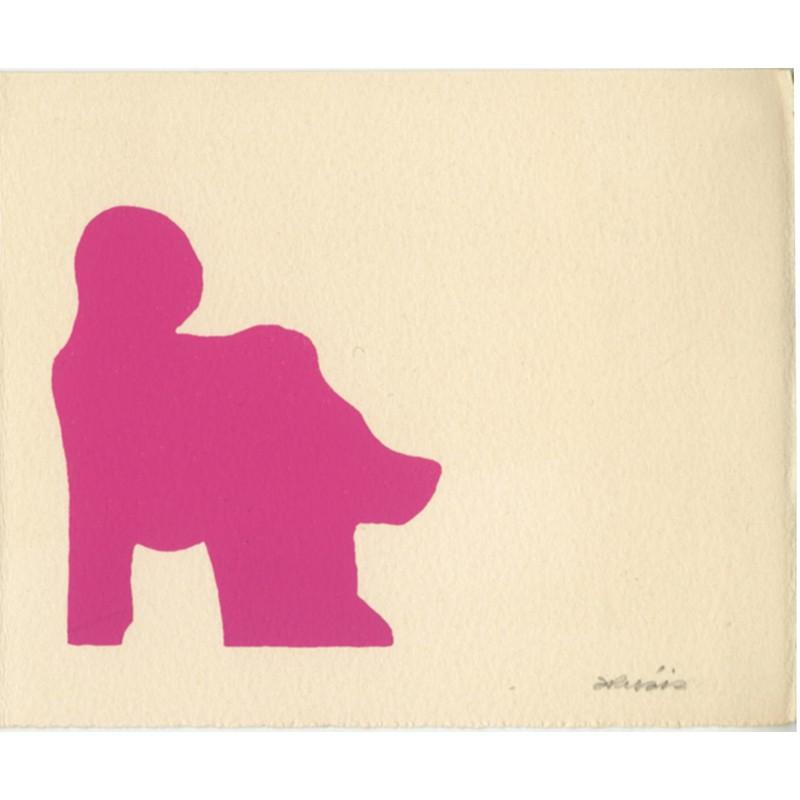sérigraphie originale de Doroteo Arnaiz, 1971