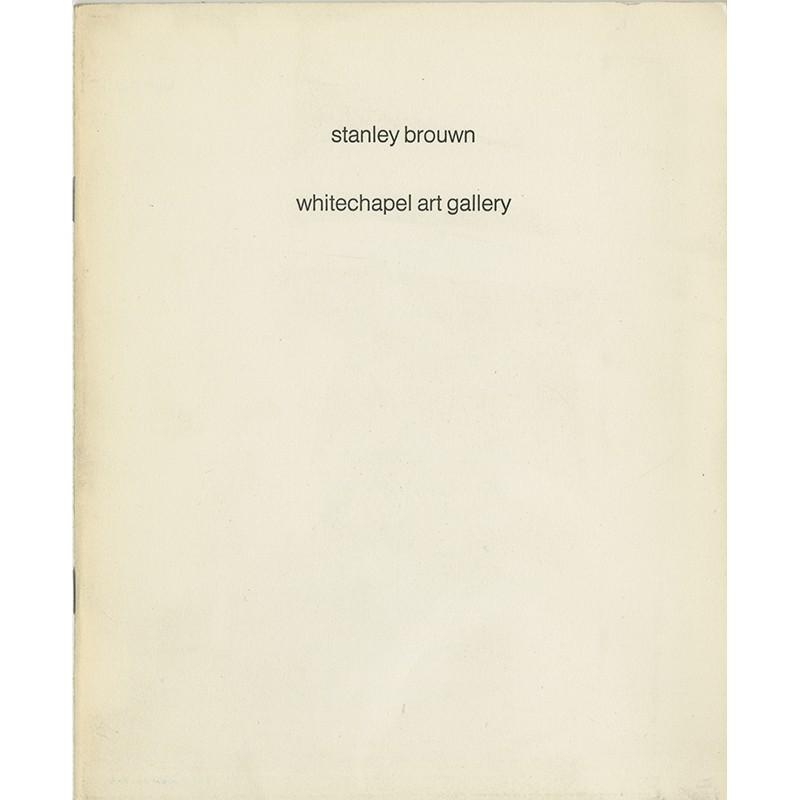 livre d'artiste de Stanley Brouwn, édité par la Withechapel Art Gallery, 1977