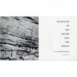 Sculpture of the Tellem and the Dogon, texte de Jacques Damase