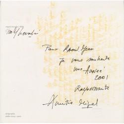 sérigraphie signée et numérotée au feutre par Miguel Chevalier, 2001