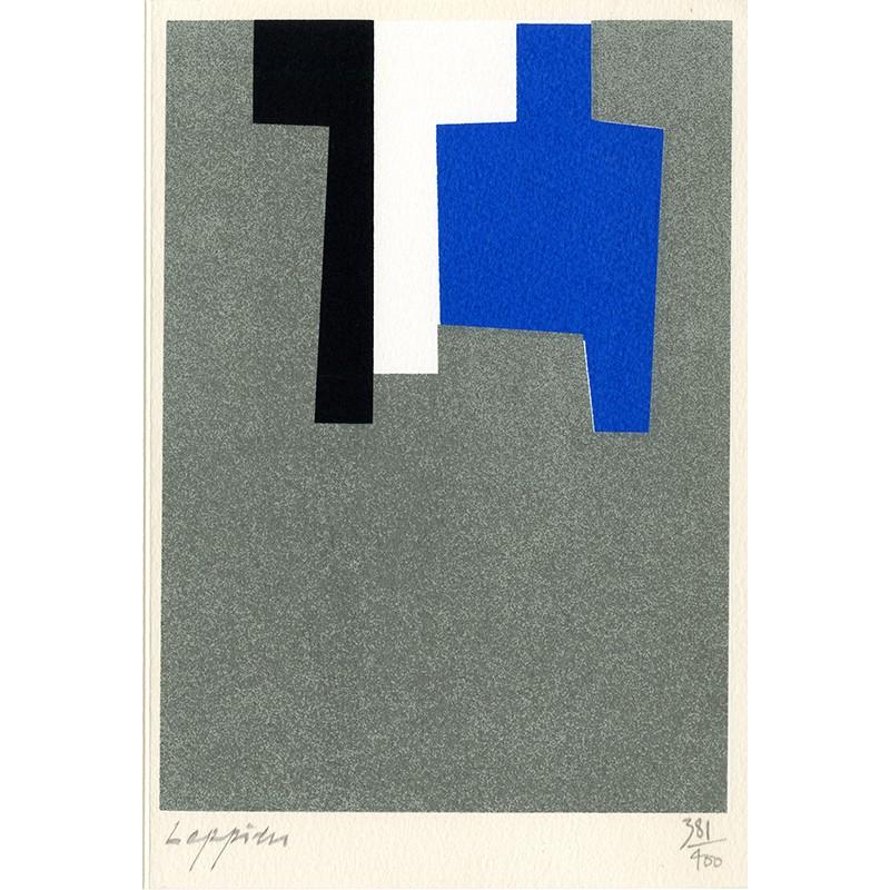 Sérigraphie originale de Jean Leppien, éditée par l'atelier Del Arco