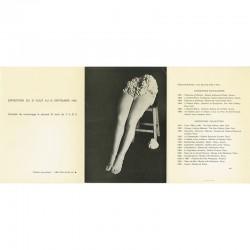 carton d'invitation pour l'exposition de Robert Malaval à à la galerie A. de la Salle, Vence, 1966