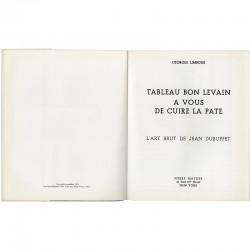 Dubuffet, par les galeries Pierre Matisse et René Drouin, 1953