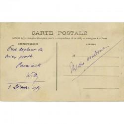 carte postale autographe de Willy, décembre 1907