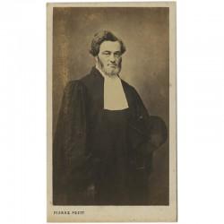 Portrait carte de Jules Favre par Pierre Petit