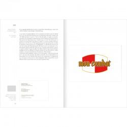 """Intérieur du livre de Claude Lévêque """"Catalogue raisonné des cartons d'invitation"""", Marval-rueVisconti"""