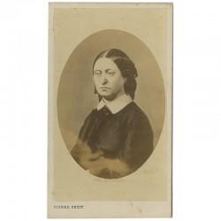 portrait carte de la Reine Victoria par Pierre Petit