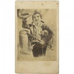 portrait carte d'un tableau de Félix Rousseau par Babain