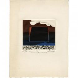gravure originale de Bertrand Dorny, épreuve d'artiste