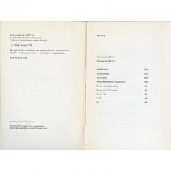 Livre de Victor Burgin, 1973
