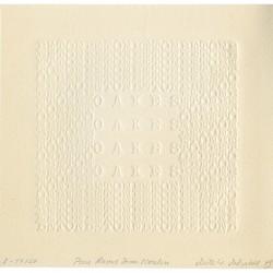 carte de vœux de Ruth Wolf-Rehfeldt adressée à Raoul-Jean Moulin en 1979