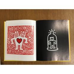 """Intérieur de """"Produit de l'art"""" monographie de Speedy Graphito , Editions Possible Book"""
