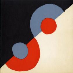 carton d'invitation de l'exposition de Sonia Delaunay, galerie Denise René, 1968