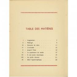 """""""Sexes"""" 15 poèmes érotiques anonymes imprimés en typographie"""
