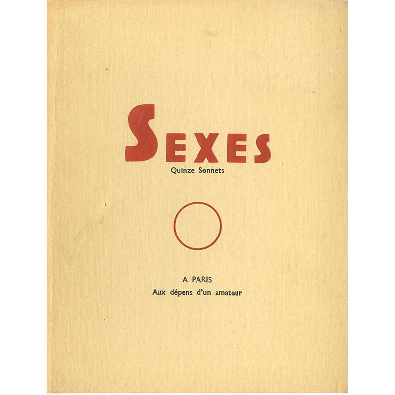 "Curiosa erotica ""Sexes"" quinze sonnets anonymes"