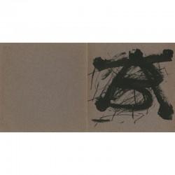 carton d'invitation d'Antoni Tàpies, galerie Maeght, à Zurich, le 15 mai 1975