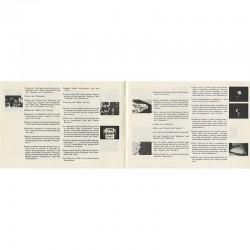 livre d'artiste autour de l'installation de Barbara Howard au centre d'art De Appel d'Amsterdam
