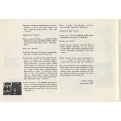 index élaboré par Martha Hawley autour du travail de Barbara Howard