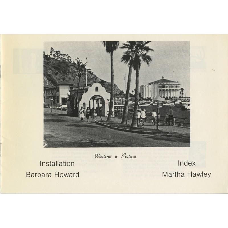 Barbara Howard,  Martha Hawley, Wanting a Picture, 1981