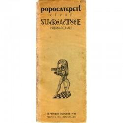 Popocatepetl. Revue surréaliste internationale, 1949