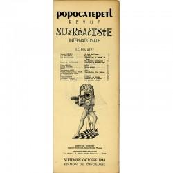 "Sommaire de la revue ""Popocatepetl"" 1949"