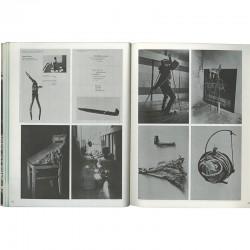 """exposition """"Information"""" au MOMA : pages du. catalogue consacrées à Joseph Beuys"""