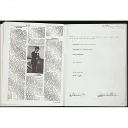 """exposition """"Information"""" au MOMA : pages du. catalogue consacrées à Jan Dibbets"""