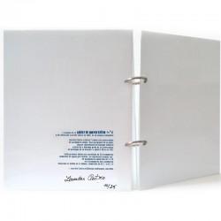 Exemplaire de Lourdes Castro « Cahier de Conversation n°6 » numéroté et signé