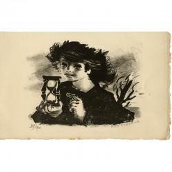 Lithographie signée et numérotée de Lucien Fontanarosa