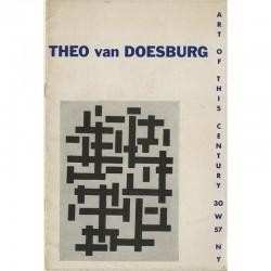 Rétrospective de Theo van Doesburg,  galerie Art of the Century, New York, 1947