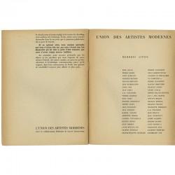 Liste des membres actifs de l'U.A.M. en 1934