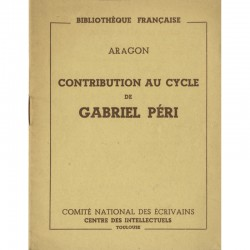 Aragon, Contribution au cycle de Gabriel Péri