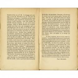 texte d'introduction et poèmes de Paul Eluard