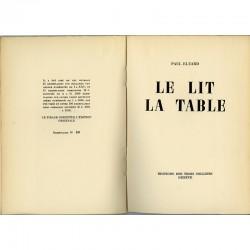 un des exemplaires numérotés sur vergé bouffant de Paul Eluard