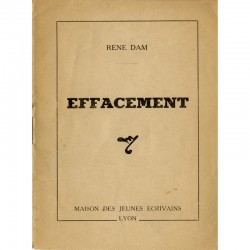 René Dam, Effacement, 1945