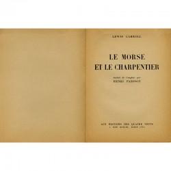 poèmes de Lewis Carroll aux Éditions des Quatres Vents à Paris