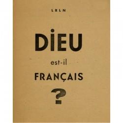 Yves Bonnefoy, Dieu est-il français ?, LRLN, 1946