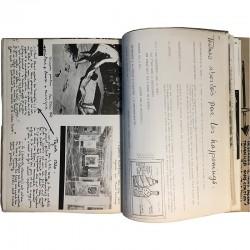 "Serge Renaudie, revue/livre d'artiste ""Ragile"", imprimé à 300 ex."