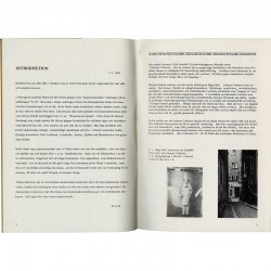 "catalogue de l'exposition ""Dada"" au Moderna Museet, Stockholm, 1966"